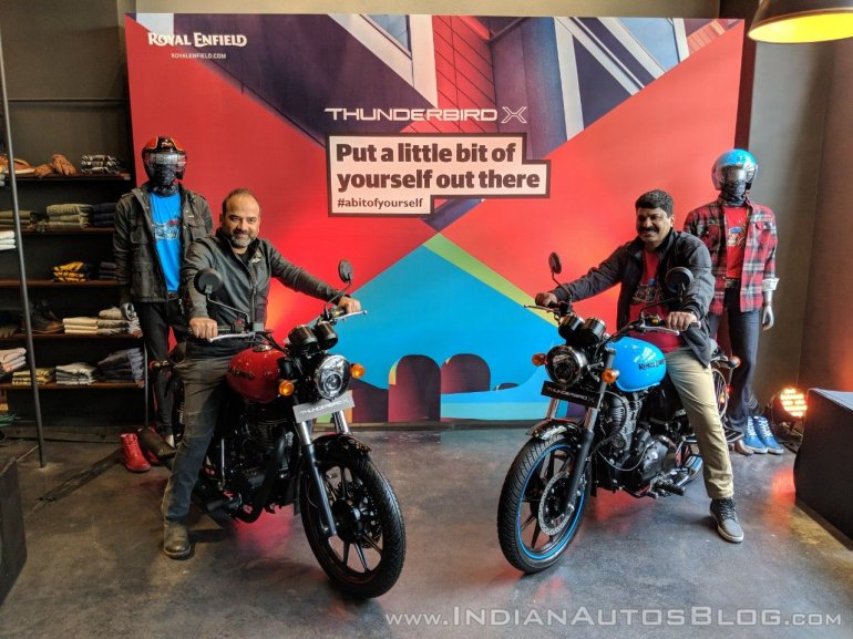 Royal Enfield Thunderbird 350X & Royal Enfield Thunderbird 500X India launch