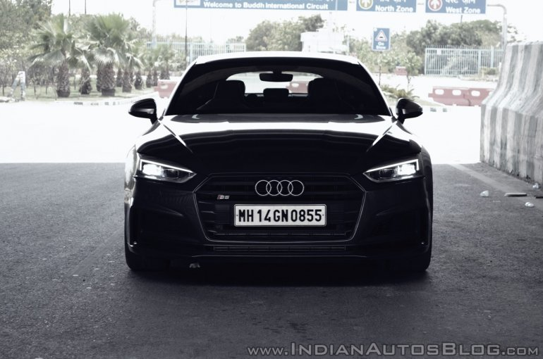 Audi S5 review front dark