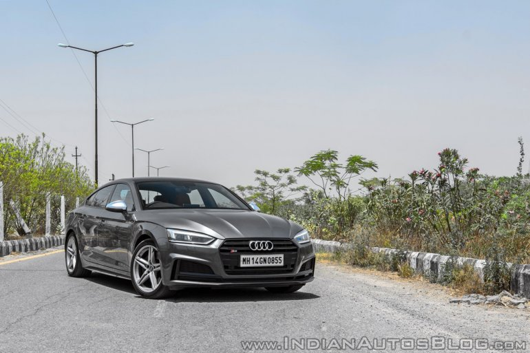 Audi S5 review front three quarters