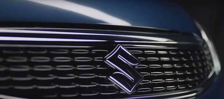 2018 Maruti Ciaz facelift teaser grille