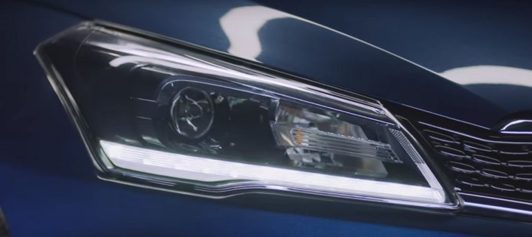 2018 Maruti Ciaz facelift teaser headlight