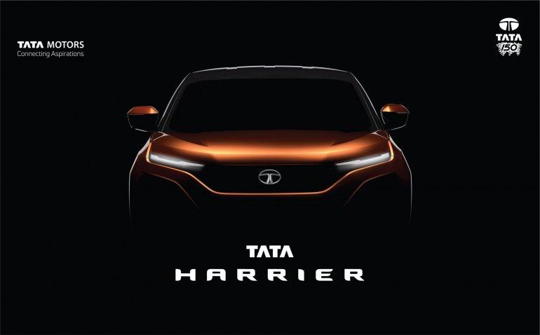 Tata Harrier teaser image front