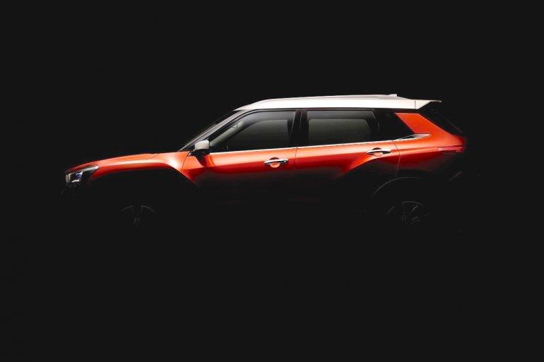Venucia compact SUV teaser