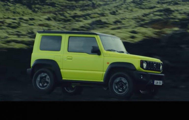 2018 Suzuki Jimny promo