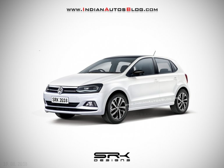 vw polo facelift iab rendering