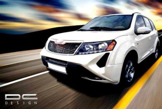 dc modified suv mahindra xuv500