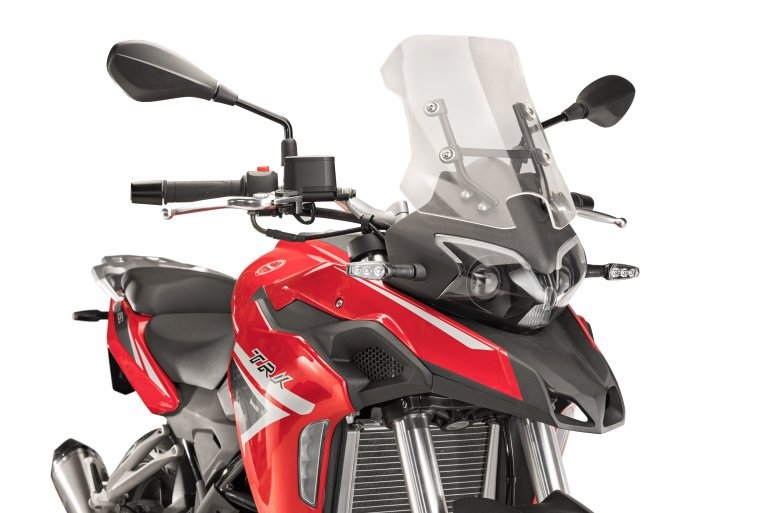 Benelli TRK 251 front fairing press image