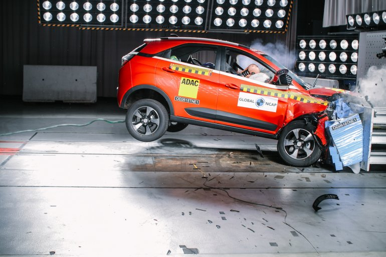 Tata Nexon Global NCAP crash test