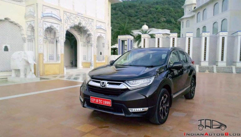 2018 Honda CR-V Review Images Front Three Quarters