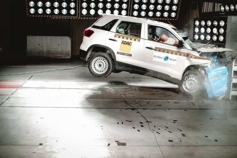 Maruti Vitara Brezza Global Ncap Crash Test