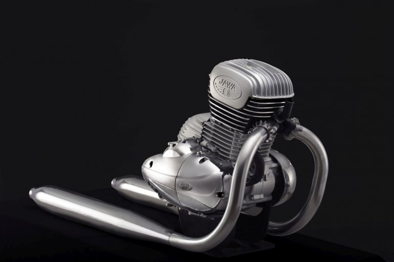 New 293cc Bs Vi Ready Engine For Jawa Motorcycles