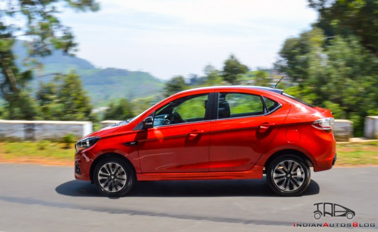 Tata Tigor Jtp Review Images Side Profile