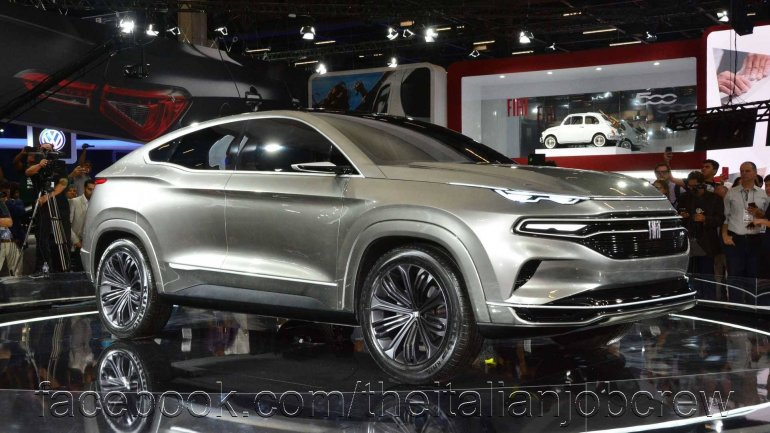 Fiat Fastback Concept Images Front Three Quarters