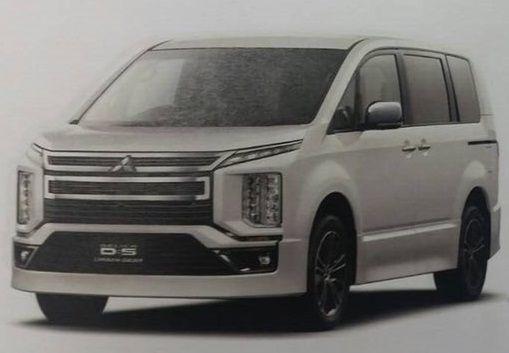 2019 Mitsubishi Delica D 5 Leaked Image
