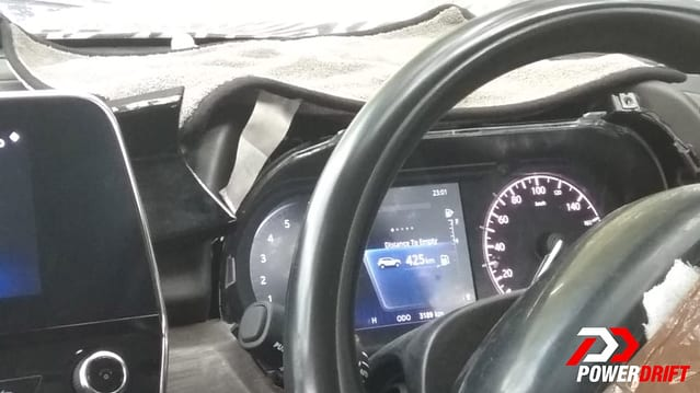 Tata Harrier Interior Details Revealed In Latest Spy Images